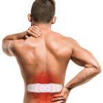 Man with pain in shoulder